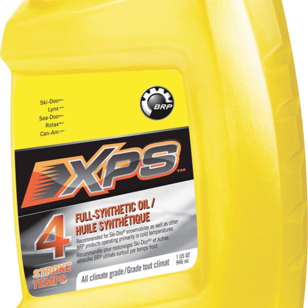 Helsyntetisk XPS-fyrtaktsolja för vinteranvändning