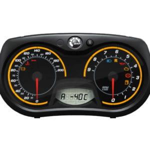 Ski-Doo modul för visning av utetemperatur och motortemperatur