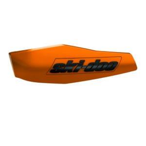 Ski-Doo inlägg för vindavvisare för styret Orange Crush/svart